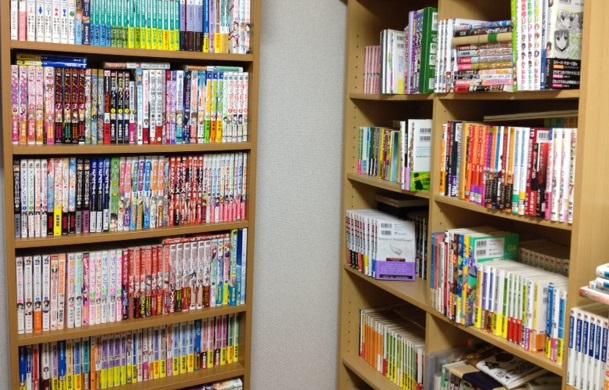 うちの本棚の一部